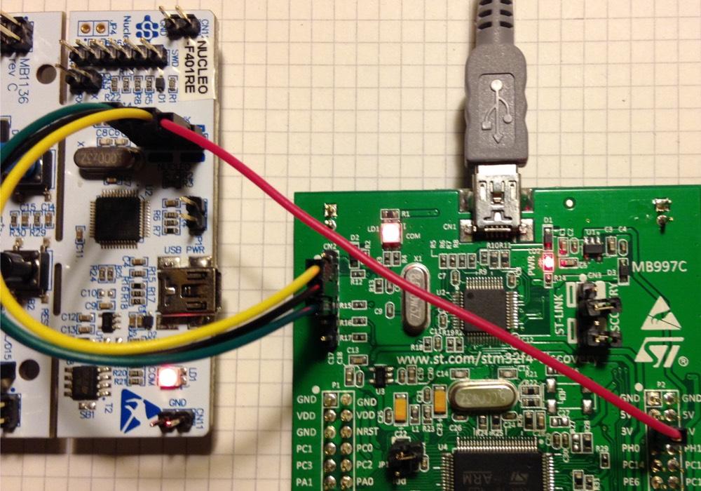 Flashing blackmagic firmware on ST-Link